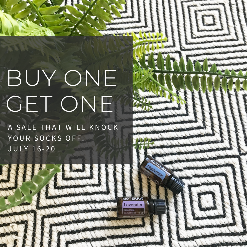 Come join the fun! A new Buy one, Get one deal each day this week!