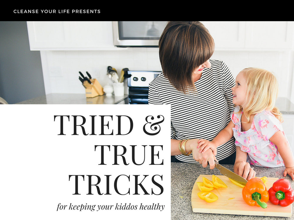 You have Options! Join me in this LIVE class to learn how I keep my kids healthy all year.