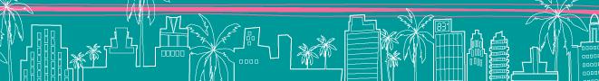 Miami Beach skyline circa 2001