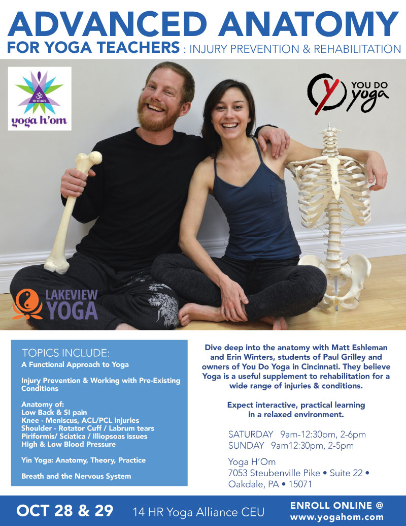Advanced Anatomy for Yoga Teachers: Injury Prevention and ...