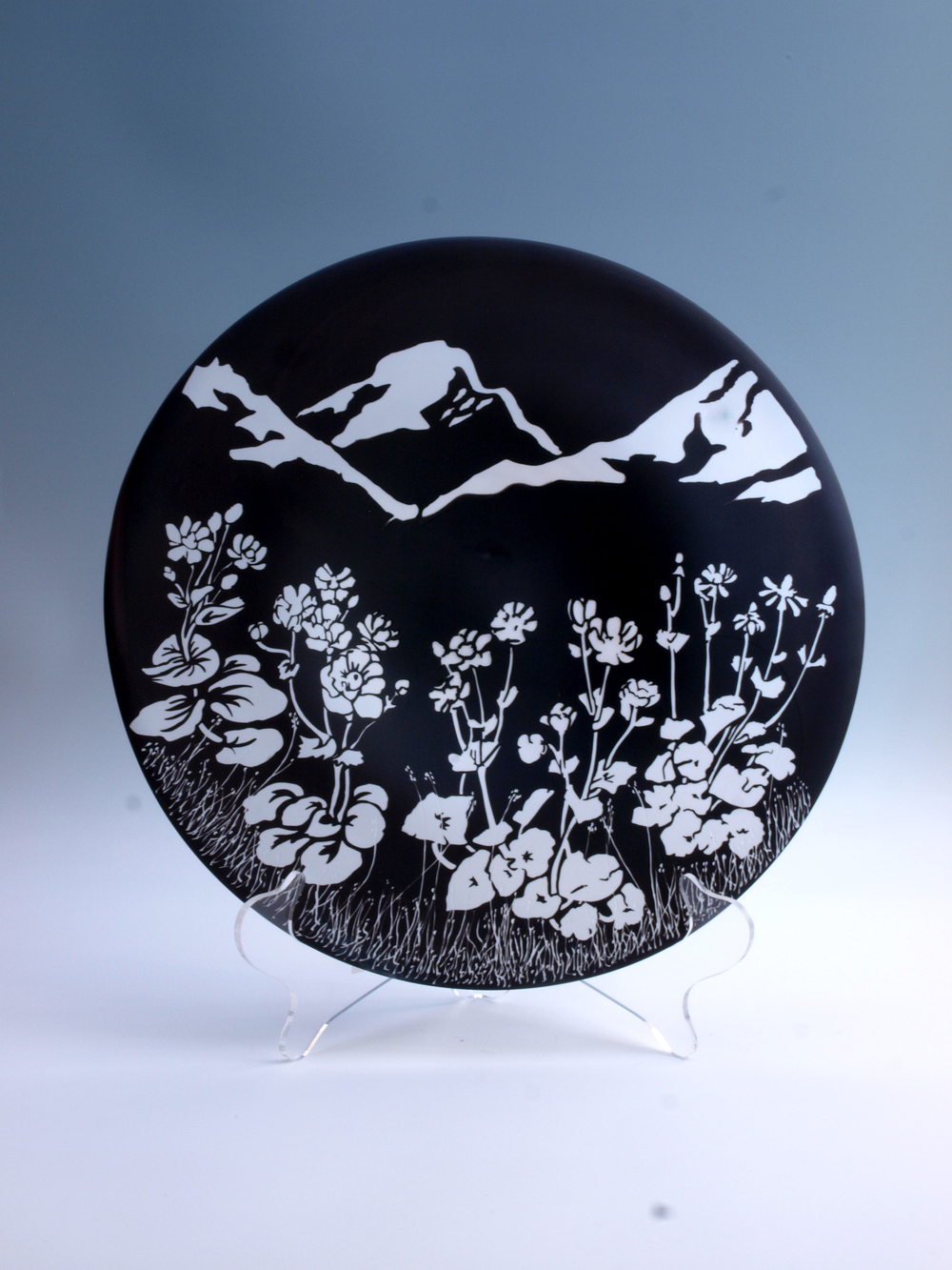Mount Cook Lily Picture Plate