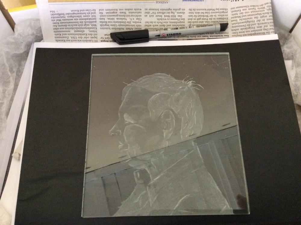 Johns portrait just about done...a