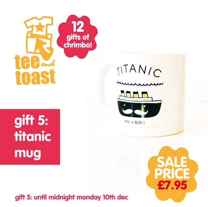 titanic mug belfast
