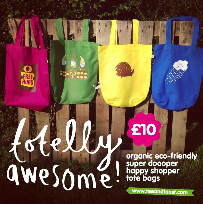 organic tote bags