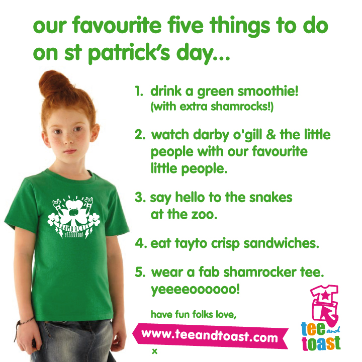 st paddy's day 5 things
