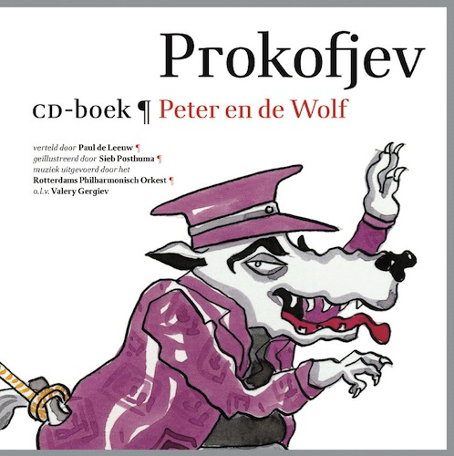 CD-boek Peter en de Wolf