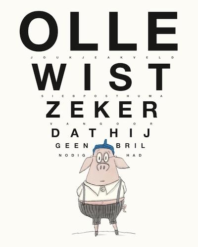Olle wist zeker dat hij geen bril nodig had