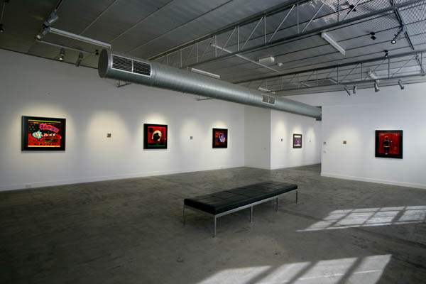 Tissue Issue,Penelope Davis, 2005, installation view, Nellie Castan Gallery VIC