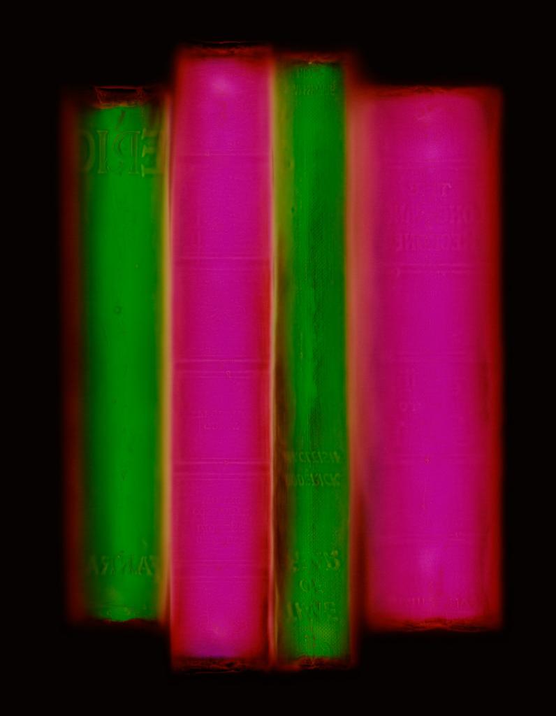 Archive (green/pink), Penelope Davis, 2008, type c print, 100x80 & 150x120cm