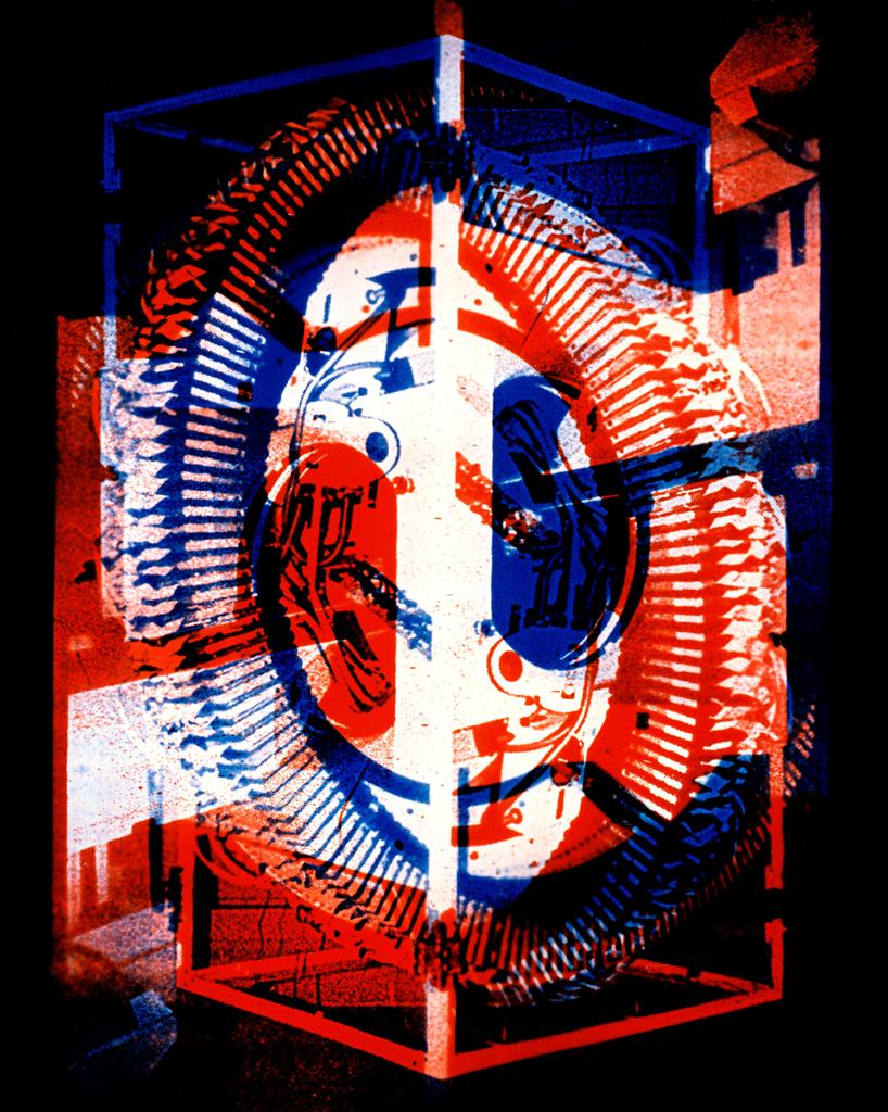 Photomachine No.5 , Penelope Davis,1997, type c photograph, 100x97cm