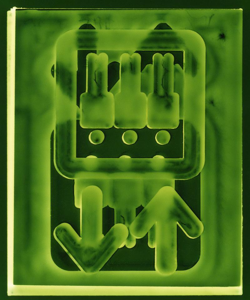 Elevation  2017,Ilford metallic photographic print, 30x25cm