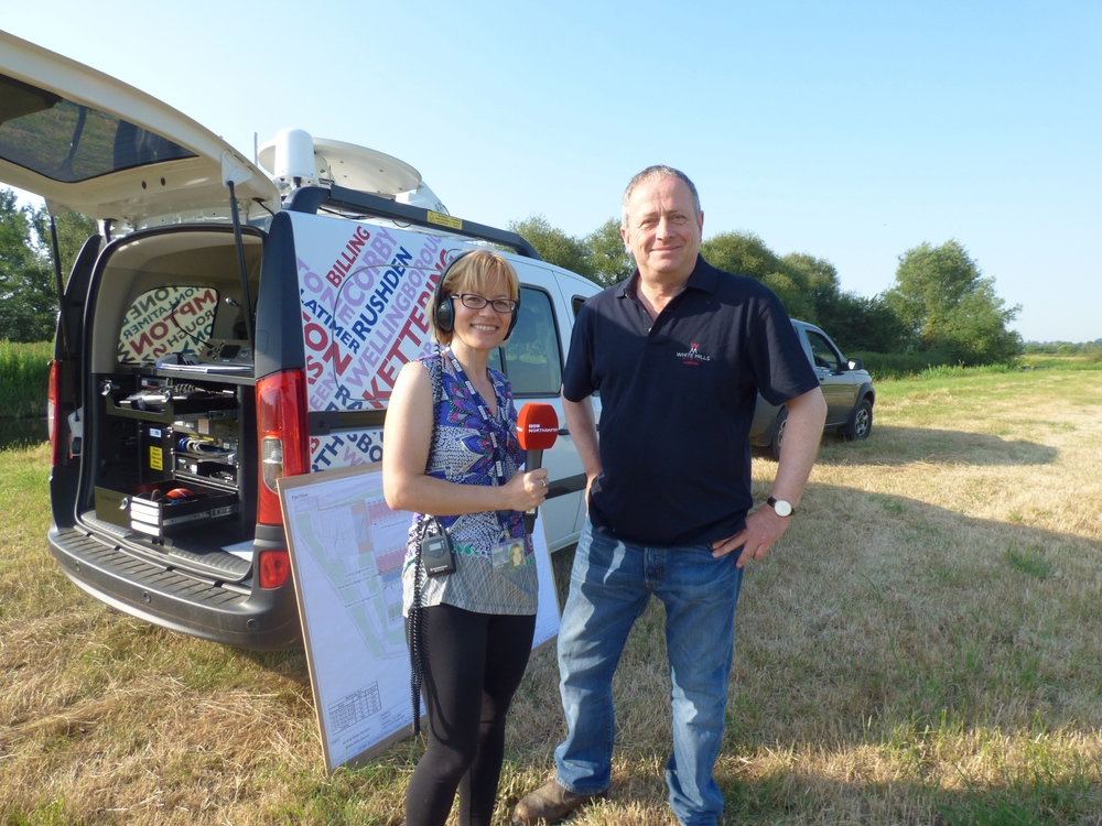 john-carol-bbc-radio-northampton-white-mills-marina-blog