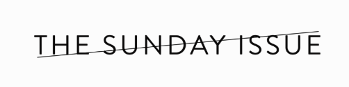the sunday issue logo