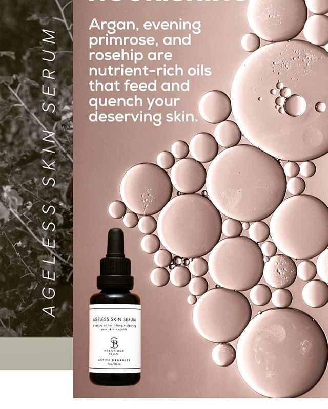 ~ OMNI-BENEFICIAL • Through superlative nutrients, decisive use of intelligent plant botanicals & essential oils and healing intention, AGELESS SKIN SERUM is able to deliver powerful, results to all skin types of every age, under one sun, sky & roof! • (GET YOURS ABOVE 🙌)