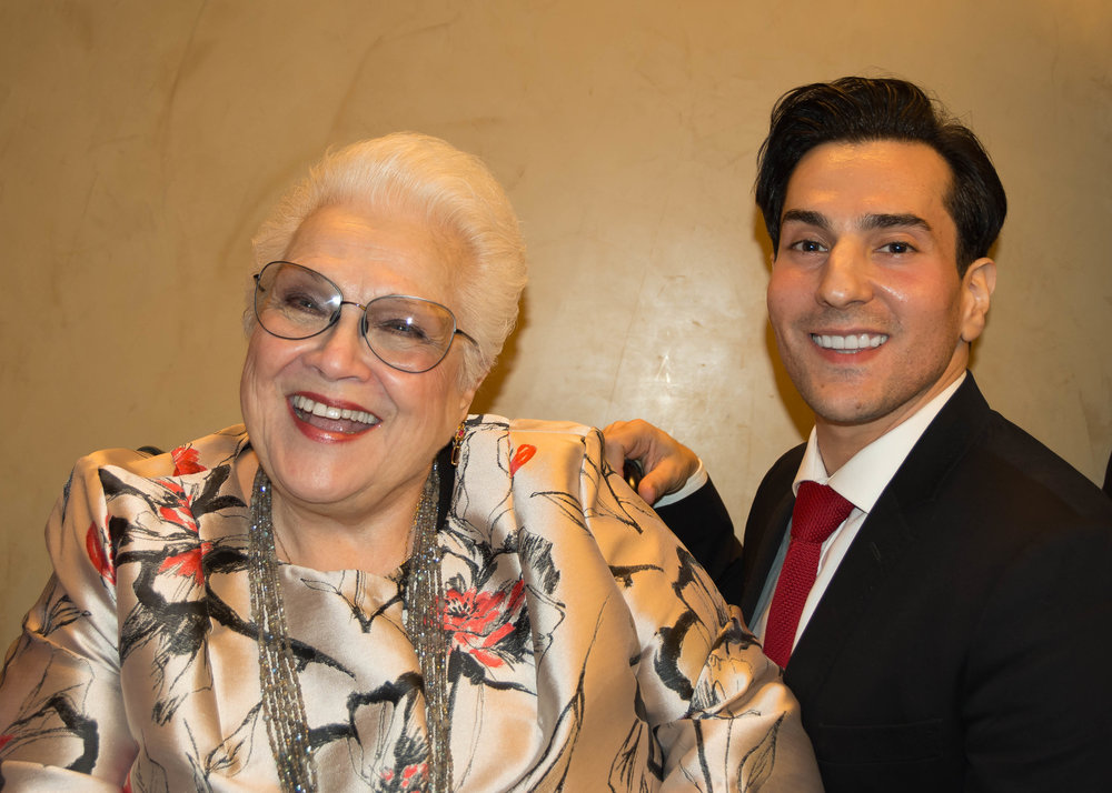 Ms. Horne and Leonardo Capalbo