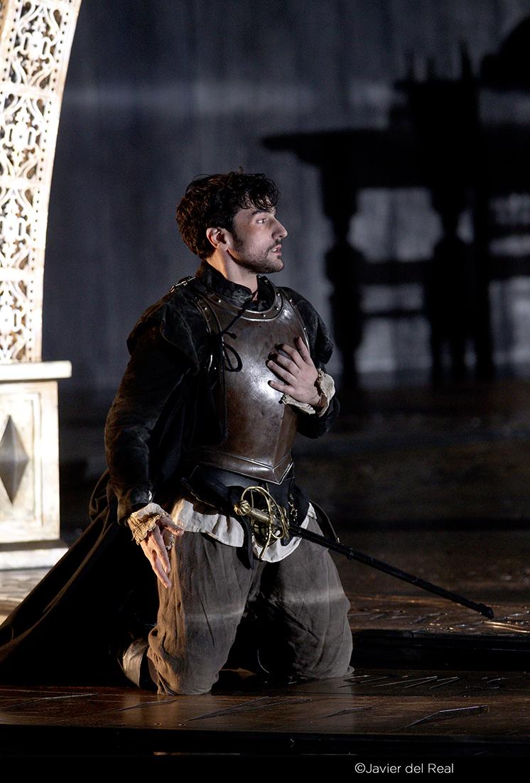 Leonardo Capalbo as Robert, Earl of Essex in  Gloriana