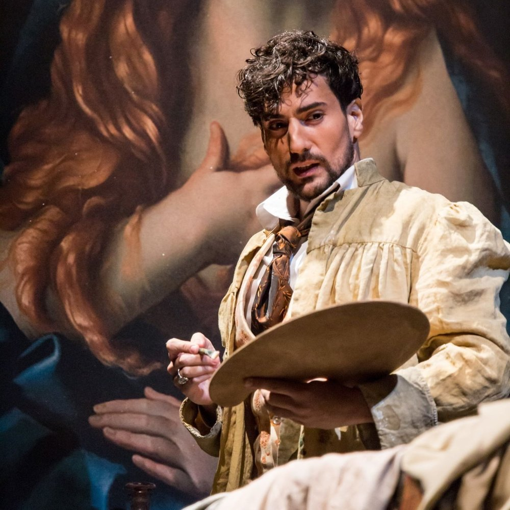 Leonardo Capalbo in  Tosca  at Minnesota Opera