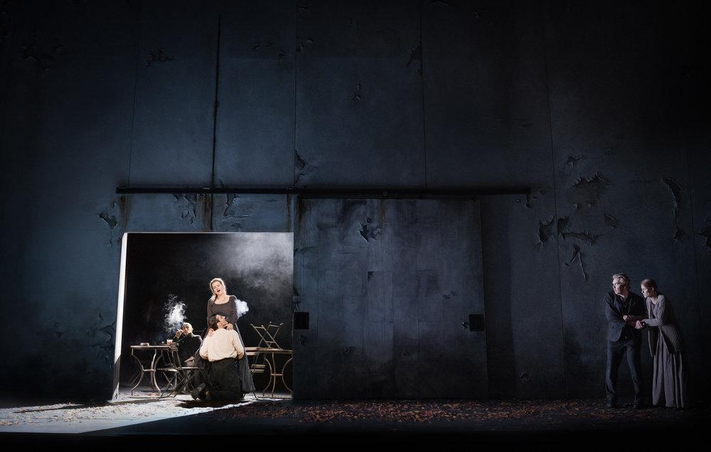 A scene from  Rigoletto