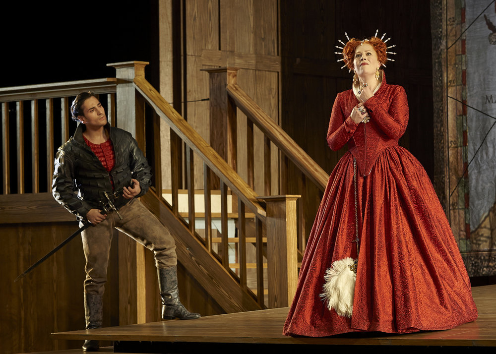 Leonardo Capalbo and Sondra Radvanovsky in  Roberto Devereux