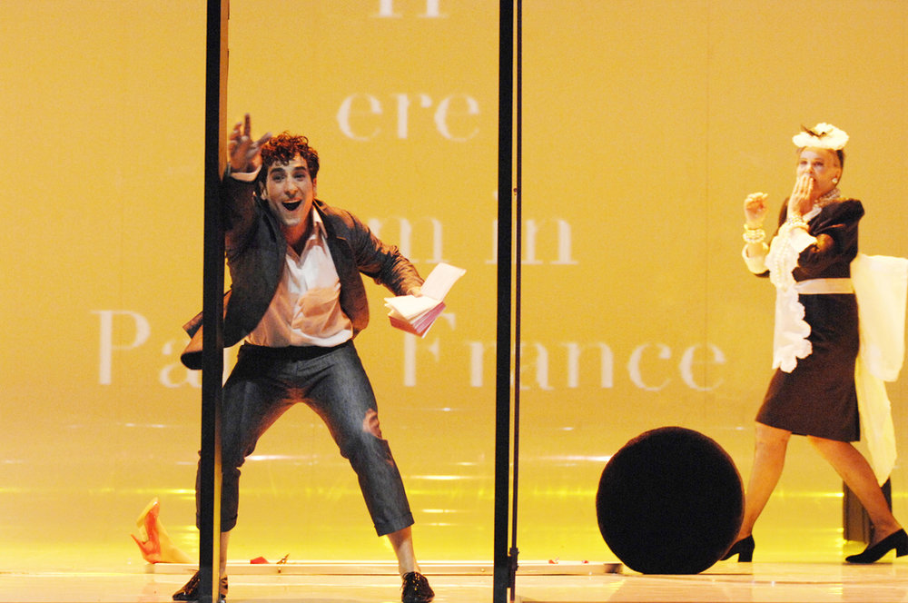 Leonardo Capalbo as Candide at the Berlin State Opera