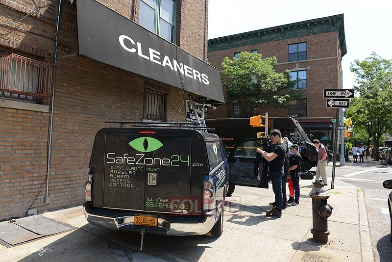 Safezone24 installers on the job site