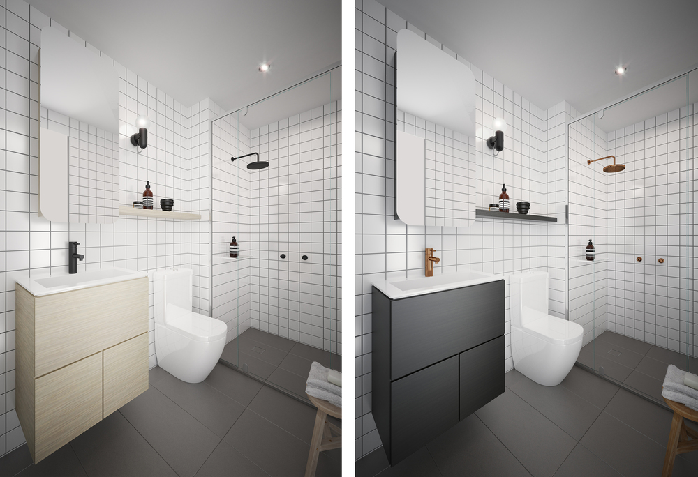 Bathroom design by Chamberlain Architects