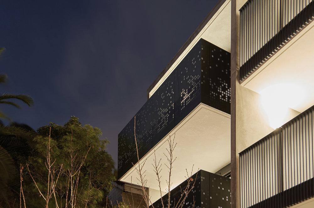 Captain & Co apartments St Kilda by Chamberlain Architects