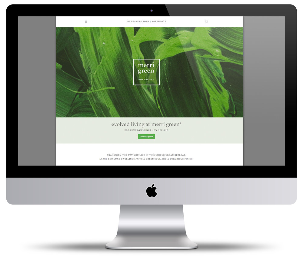 Merri Green Website + Digital Design  Click image above to visit live website.