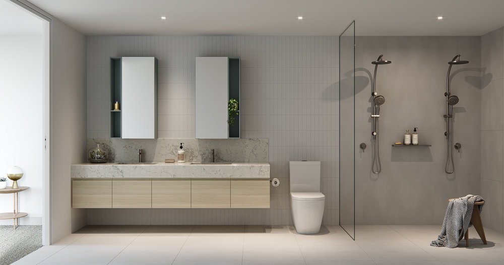 Chamberlain Architects La Sal bathroom, Chelsea