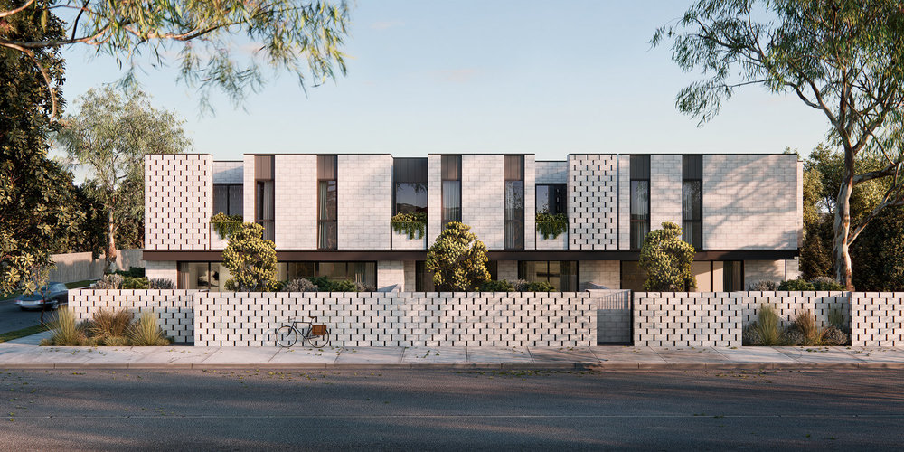 La Sal townhouses and apartments by Chamberlain Architects