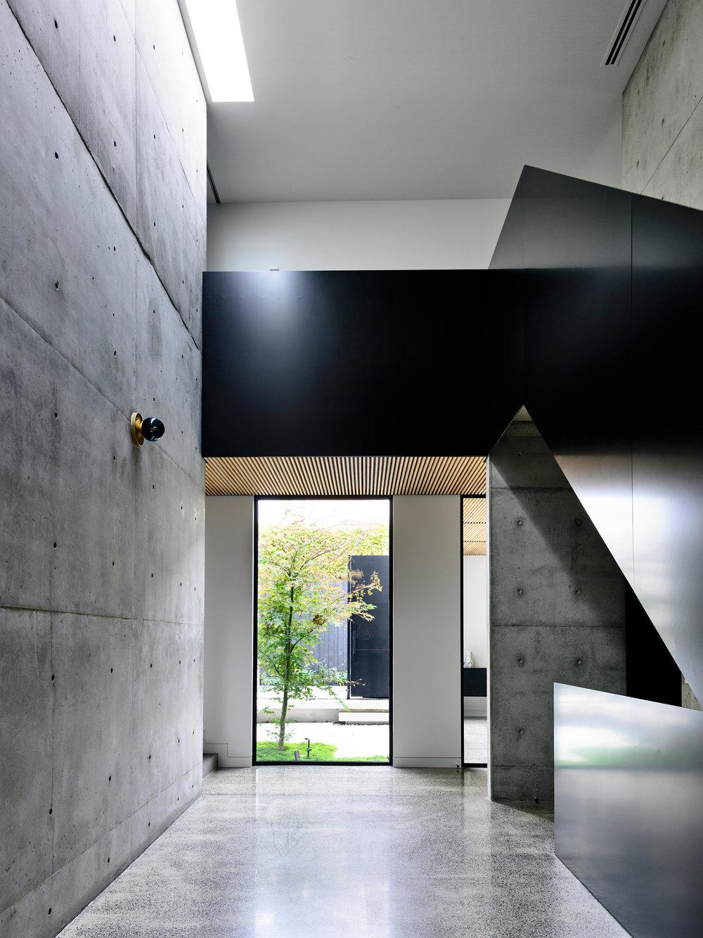 Light Vault house by chamberlain architects