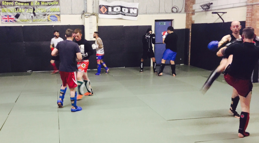 Iceni Warriors Thai Boxing Class in Norwich