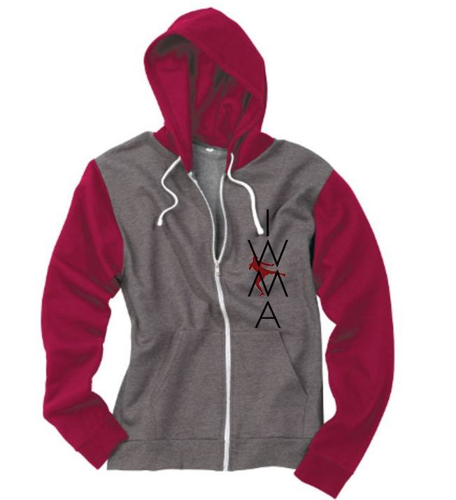 ICENI WARRIORS OFFICIAL CLUB ZIP UP HOODIE