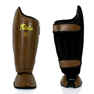 Fairtex Shin Pads with Added Knee Protection - SP8