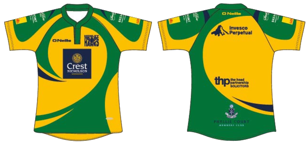 Henley Hawks Shirt Design 2016/17 Season