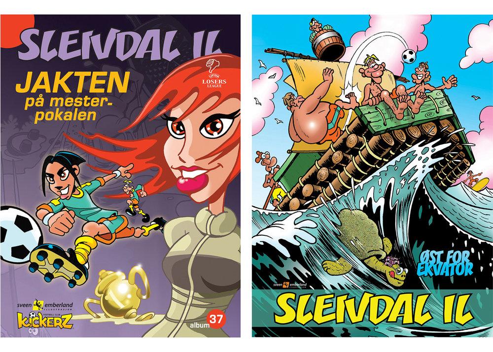 Sleivdal IL så trykksverte for første gang i BOING i 1995. I 2018 kommer den andre praktboken i samleserien.