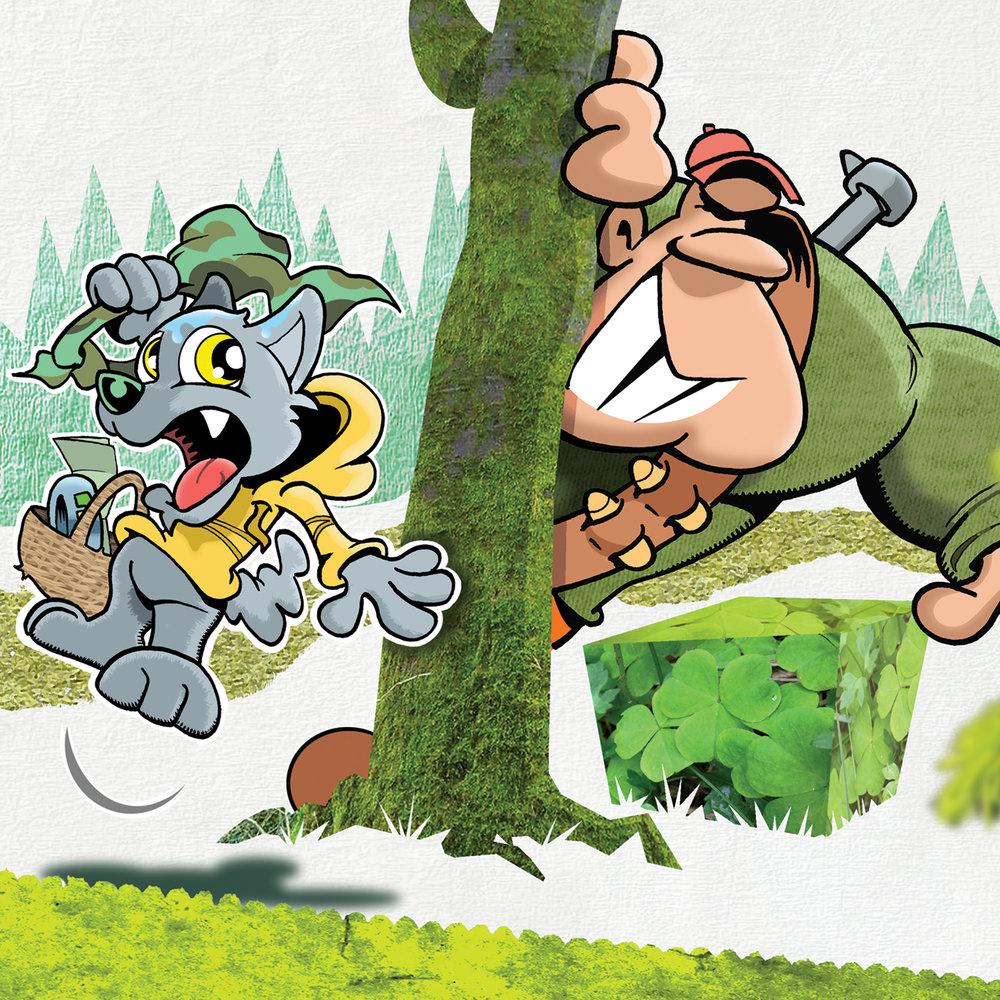 Eventyret om GRØNNHETTE er utgitt i samarbeid med WWF Verdens naturfond.