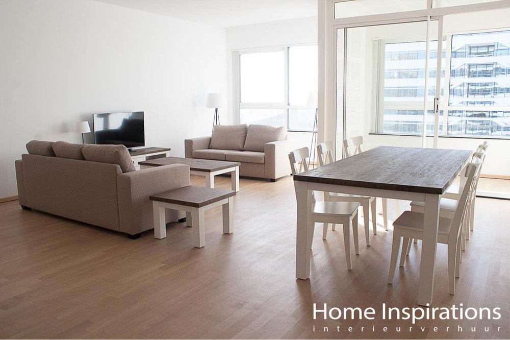 Basis inrichting woonkamer landelijke stijl