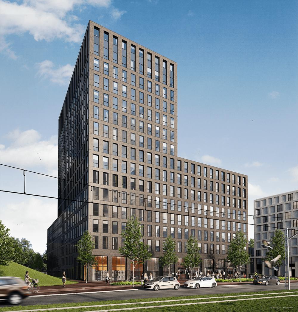 Studentenhuisvesting Laan van Spartaan Amsterdam