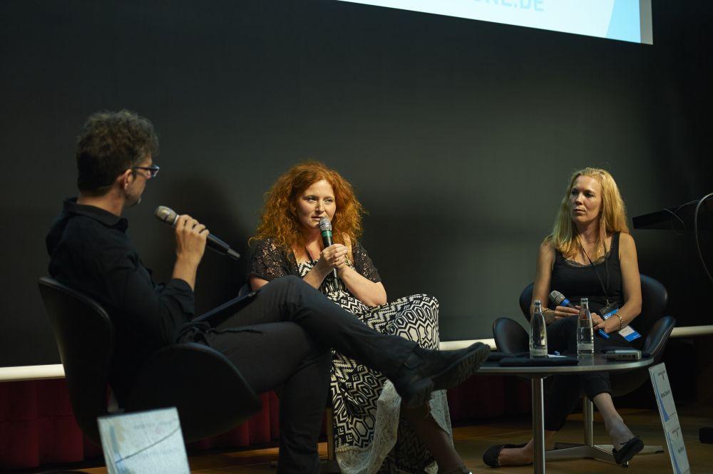 Matthias Hornschuh, Martina Eisenreich, Nami Strack. (Fotos: Soundtrack Cologne)