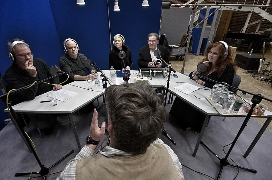 Live in der Sendung. Foto: Dr. Martin Hufner, NMZ - Redaktion Internet.