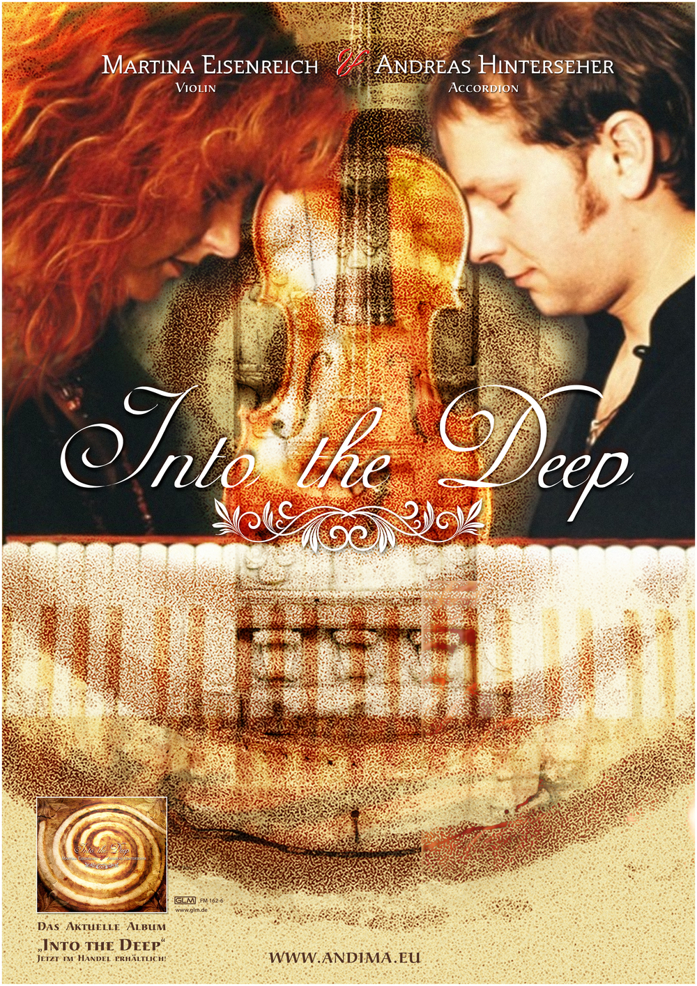 "Poster: ""INTO THE DEEP"". Photography by Reinhard F. Griill. Artwork: Tom Kintscher"