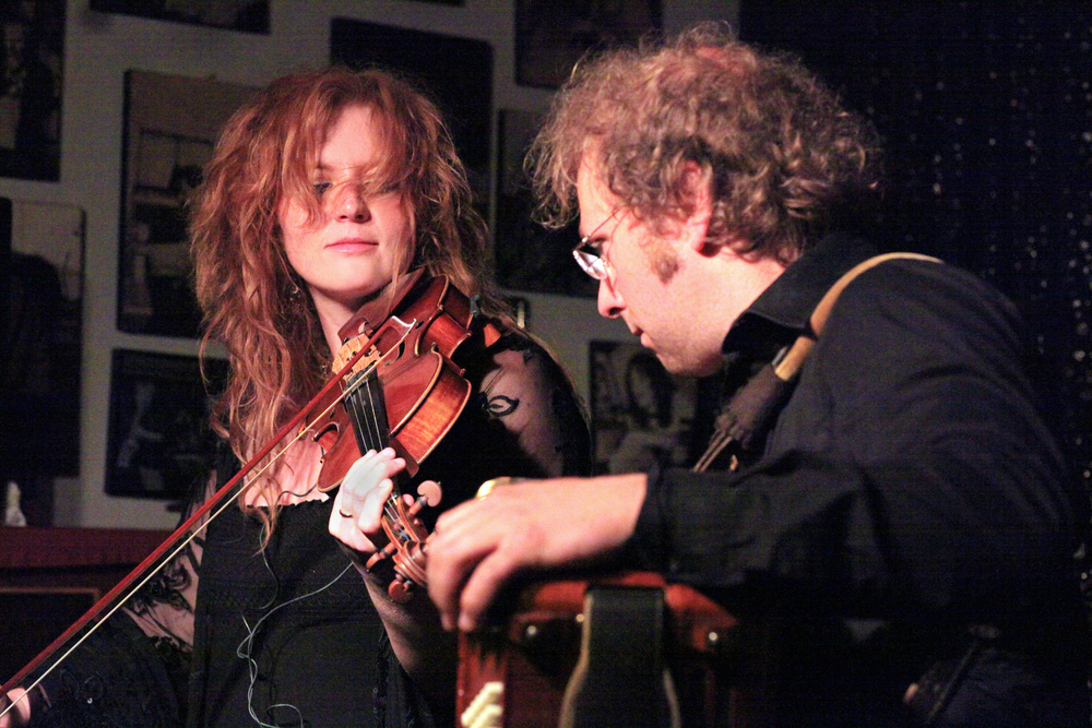 Martina Eisenreich & Andreas Hinterseher (live). Photo: Le Pirate