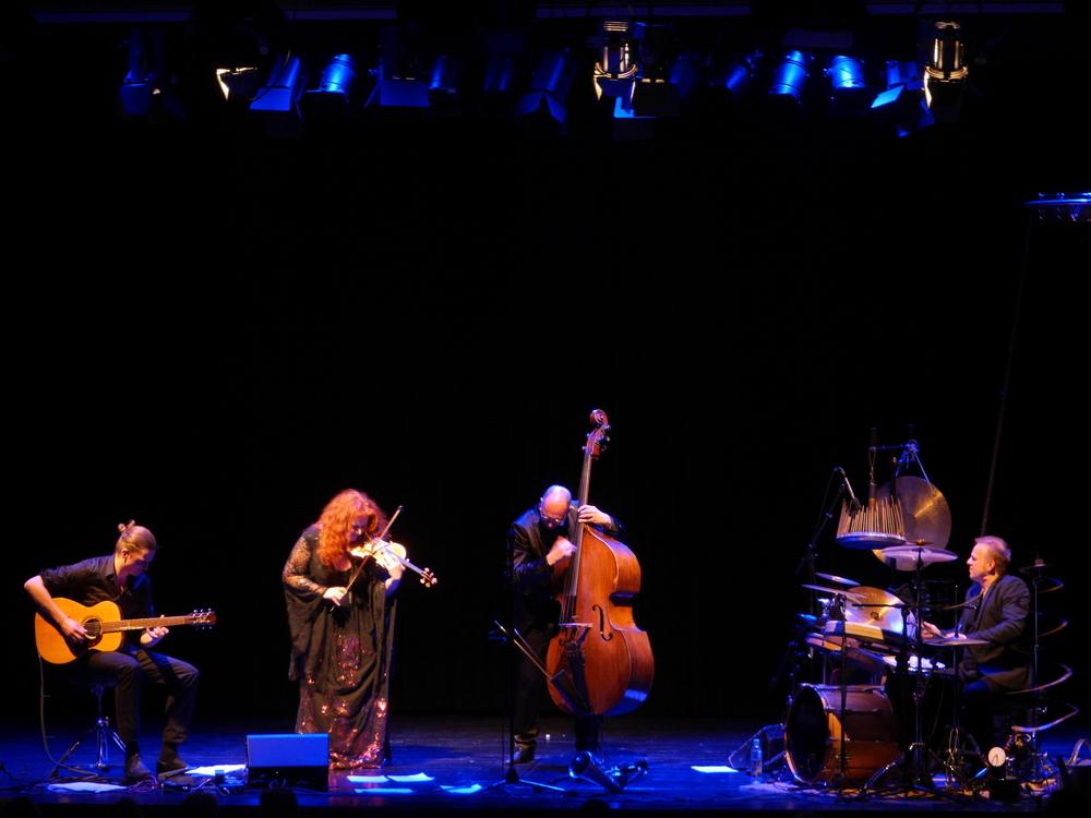Martina Eisenreich Quartett (live). Fotography by Werner Gruban.