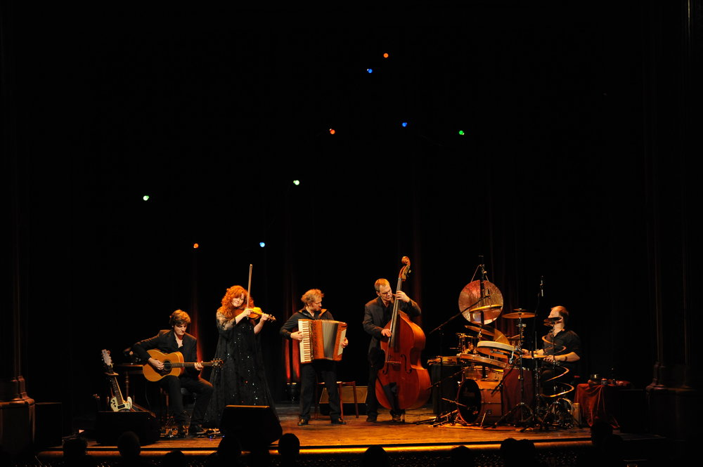 Martina Eisenreich Quintet, live. Fotography by Mike Meyer. [Print Resolution]
