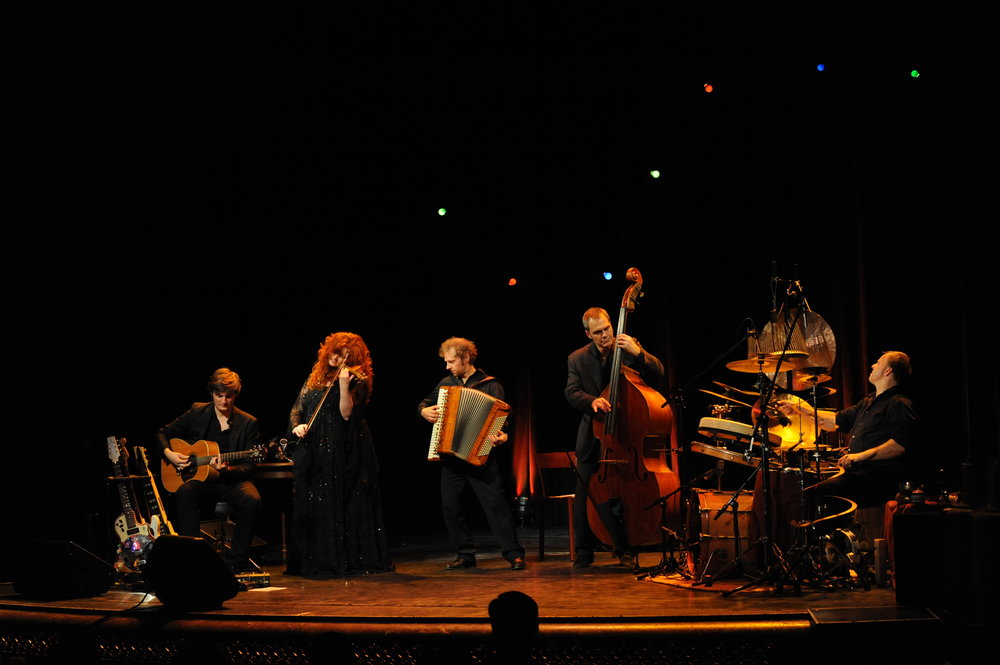 Martina Eisenreich Quintett live (2). Fotography by Mike Meyer. (Print Resolution)