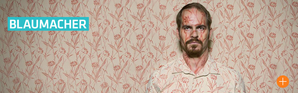 Marc Ben Puch als Frank in der neuen Serie Blaumacher (Dreamtool Entertainment, Photo ©ZDF/Daniela Incoronato)