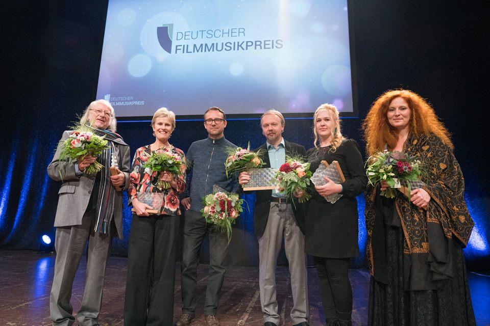 PreisträgerInnen 2018. Foto:  deutscherfilmmusikpreis.de , ©Joachim Blobel