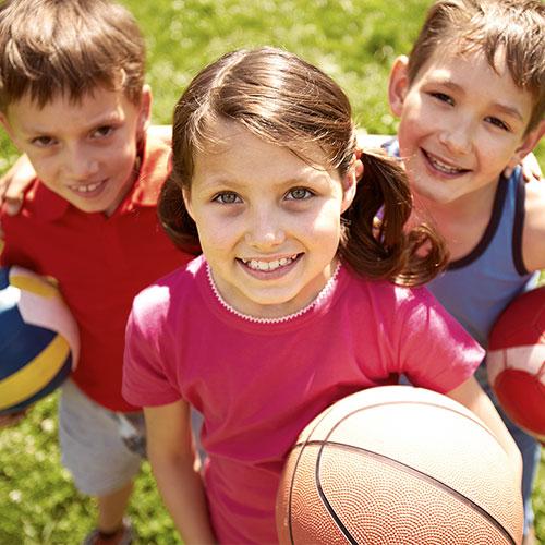 Kinderprogramm für Sportevents