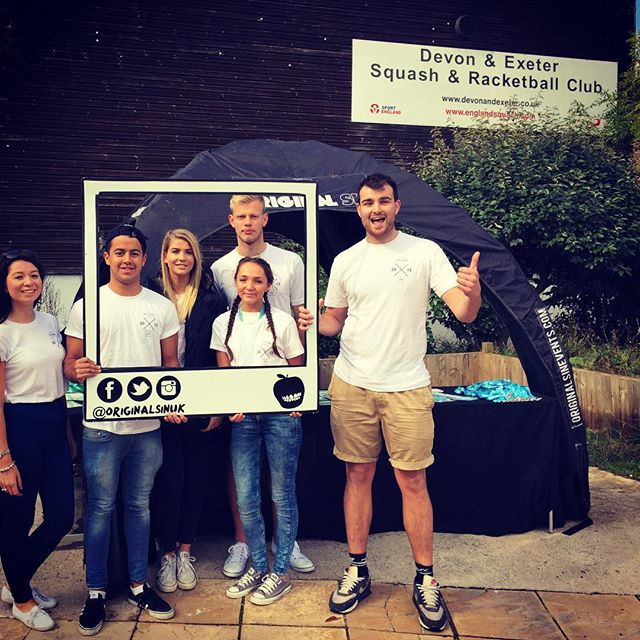FWP Ticket Exchange at Devon and Exeter squash club, come on down to get your wristband and get a freebie or two! #exeterfreshers #Exeter #freshersweekproject